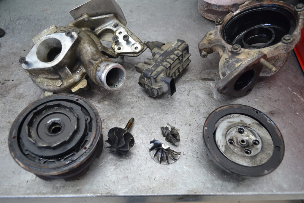 Ford Transit, форд транзит, ремонт турбины, 8k3q-6k682-pc