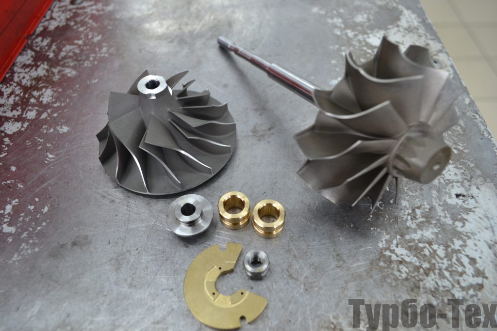 Volvo FH, вольво, ремонт турбины