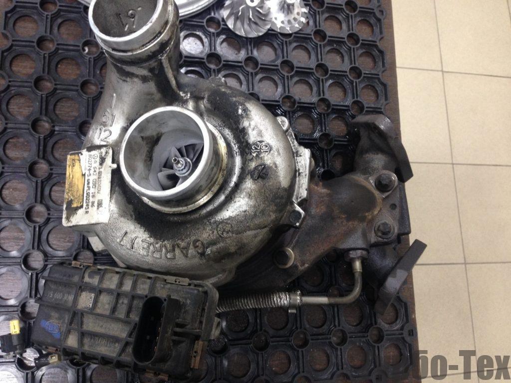 mercedes-benz gl, мерседес бенз жл, 802774-5, ремонт турбины, ремонт турбокомпрессора,, Воронеж