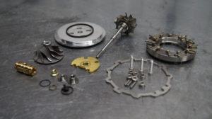Volkswagen Passat B5, фольц б5, 717858-0005, ремонт турбины, ремонт турбокомпрессора, Воронеж