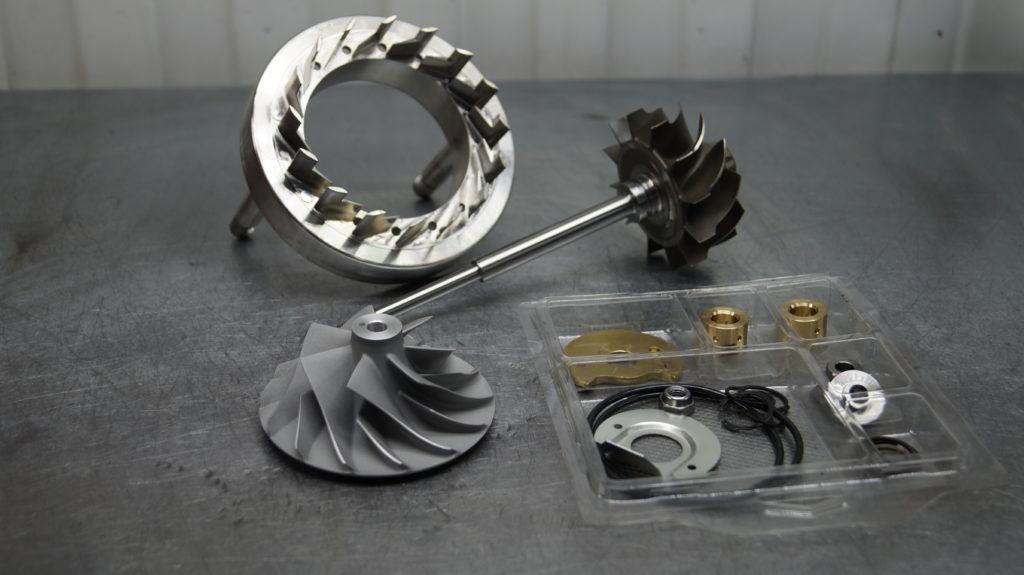 Iveco Cursor 10, ивеко курсор, ремонт турбины, замена геометрии, восстановление турбины, 4046943