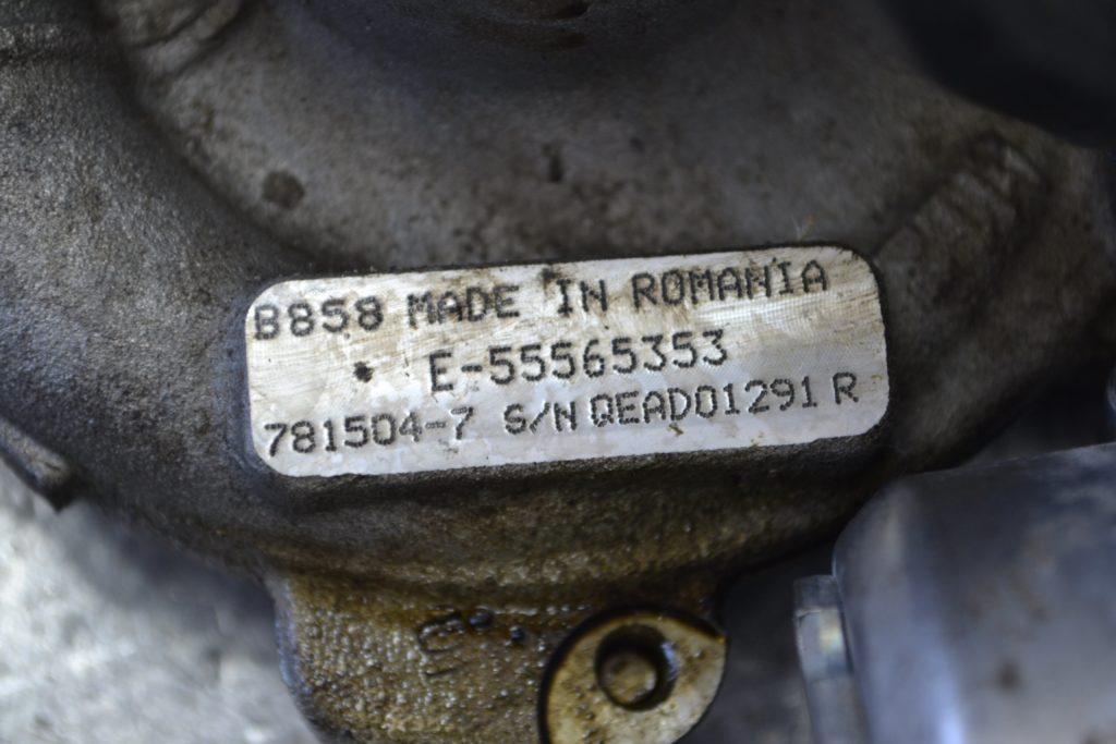 Ремонт турбины Opel Astra 1.9