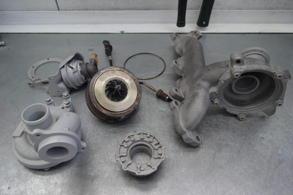 Volkswagen Amarok, амарок, ремонт турбины, 803955-0005