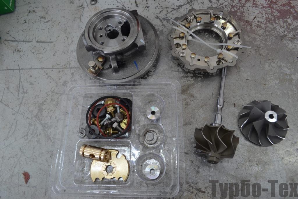 709836-5004S, Mercedes Sprinter, мерседес спринтер, ремонт турбины