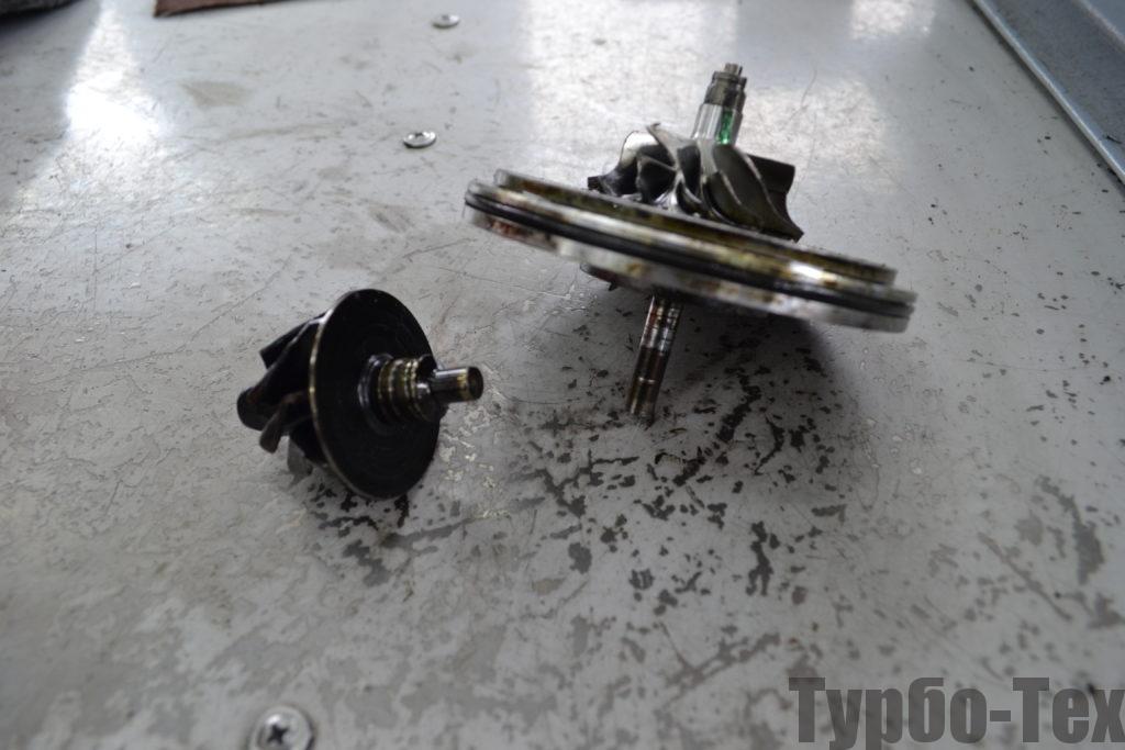 Volkswagen B6, фольц б6, ремонт турбины, 5303-970-0137