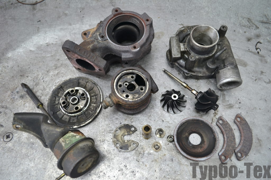 Volkswagen T4, фольксваген т4, фольц т4, ремонт турбины, 454064-0001