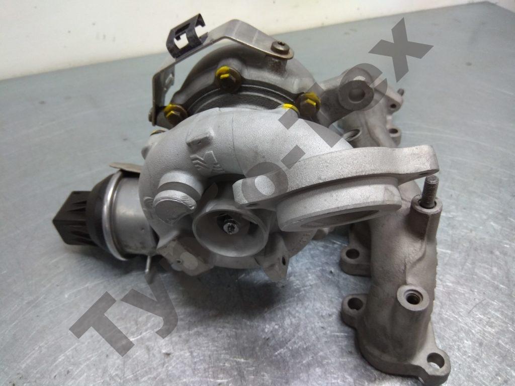vokswagen tiguan, фольц тигуан, 5303-970-0205, ремонт турбины, ремонт турбокомпрессора, Воронеж