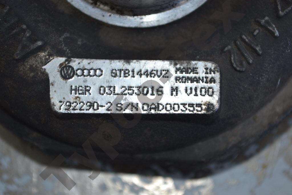 Ремонт турбины Volkswagen Caravelle